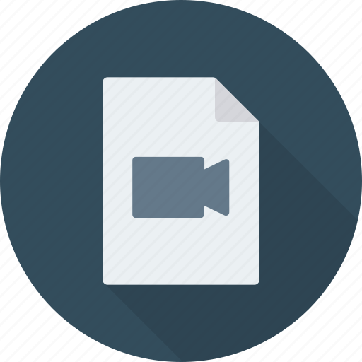 document, file, movie icon