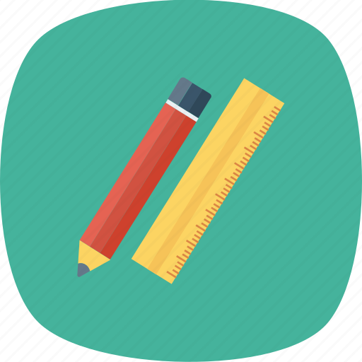 Document, edit, pen, pencil, ruler, tool, write icon - Download on Iconfinder