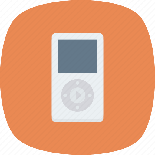 Electronics, ipod, media, multimedia, music, player, sound icon - Download on Iconfinder