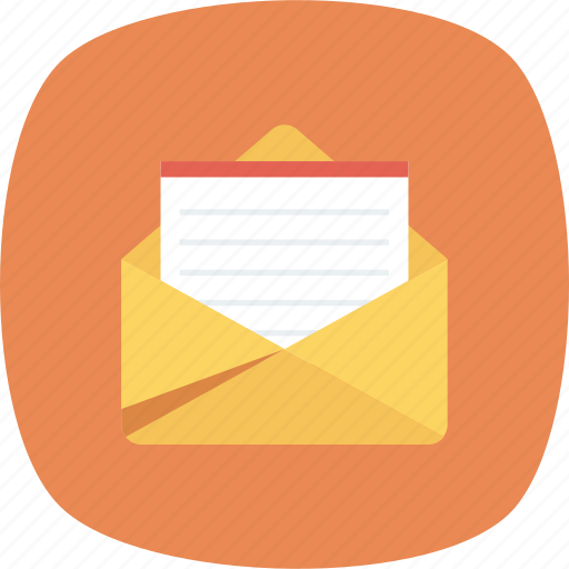 Email, envelope, letter, mail, message, open icon - Download on Iconfinder