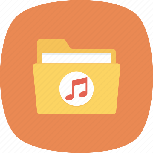 Folder, music, songs icon - Download on Iconfinder