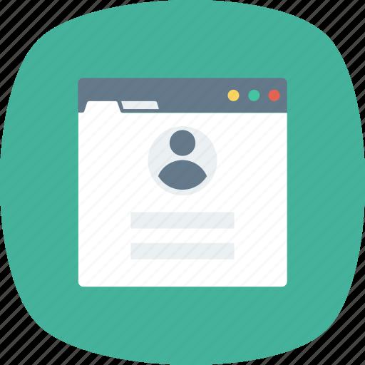Form, login, user, web icon - Download on Iconfinder
