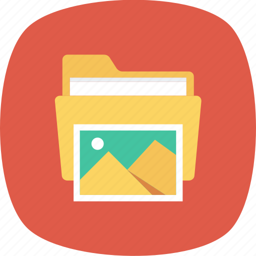 Folder, gallery, image, photo, photography, picture, pictures icon - Download on Iconfinder