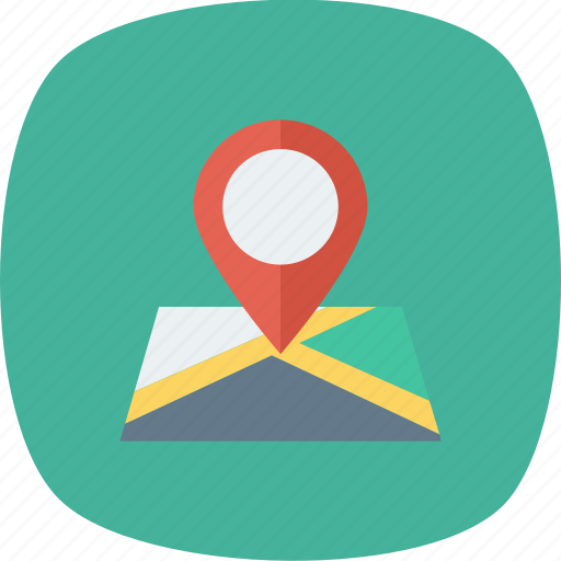 Gps, location, map, marker, pin, pointer, position icon - Download on Iconfinder