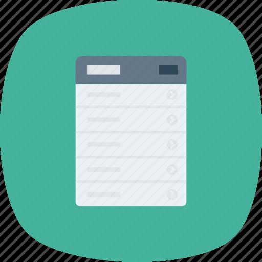 Hamburger, handle, menu, move, order, round icon - Download on Iconfinder