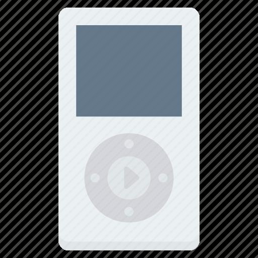 electronics, ipod, media, multimedia, music, player, sound icon