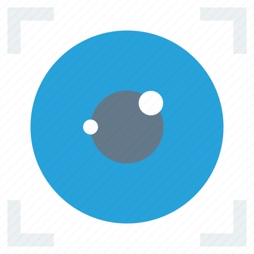 eye, human, search, select, view icon