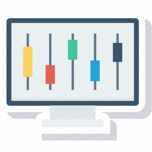 computer, connection, control, gear, monitor, repair, service icon