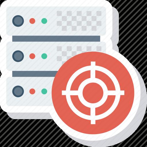 configuration, database, hosting, server, settings, setup, target icon
