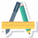 contril, draw, edit, form, paper, pen, pencil icon