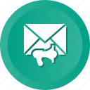 announcement, email, envelope, inbox, letter, mail icon