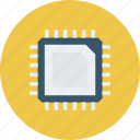 cpu, hardware, microprocessor, processor icon icon