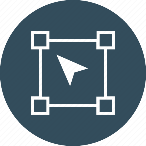 design, direct, graphic, selection, tool icon icon
