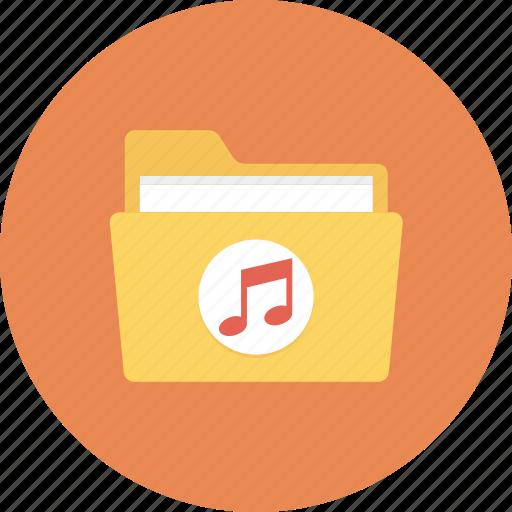 folder, music, music folder, songs icon icon