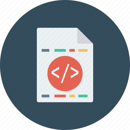 code, find, magnifying, search, zoom icon icon