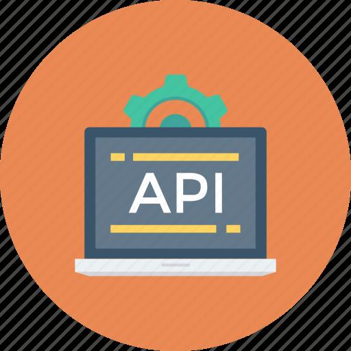 api, app, coding, computer, development, settings, software icon icon