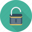 password, protection, safety, security, unlock icon