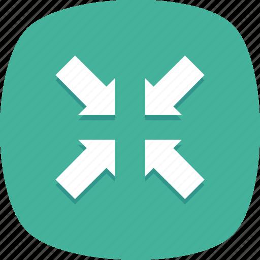 minimize, original, screen, size, small icon