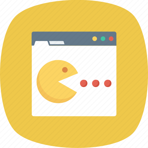 Ghost, monitor, online, pacman icon - Download on Iconfinder