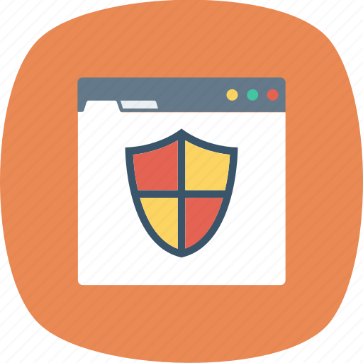 Protection, shield, web icon - Download on Iconfinder