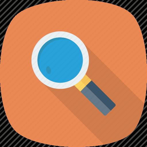 details, explore, find, magnifire, search, spy icon