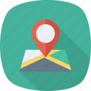 gps, location, map, marker, pin, pointer, position icon