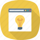 idea, new, seo, web, website icon