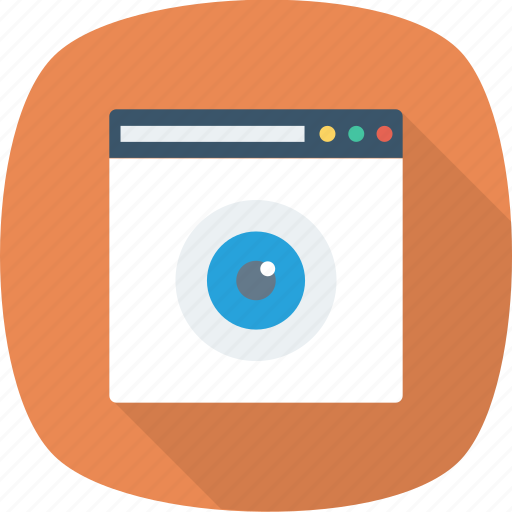 internet, network, search, view, webpage, website icon