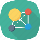 line, networking, service, share, social, tripit icon