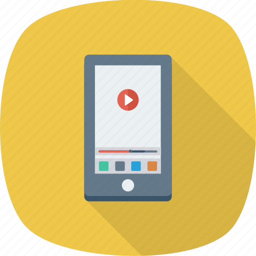 media, mobile, music, player icon