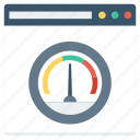 analyzer, internet, test, web, website icon
