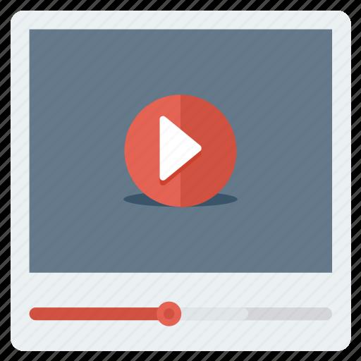 media, multimedia, player, video icon