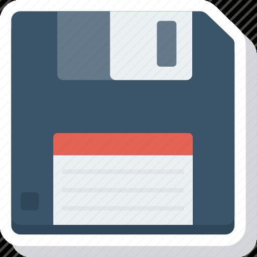disk, diskette, drive, floppy, storage icon