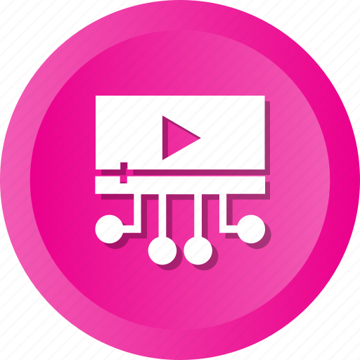 logo, network, play, share, social, video, youtube icon