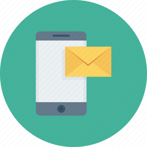 mail, message, mobile, mobile email, mobile massage icon icon