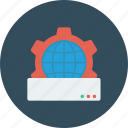 cog, web preferences, web setting, webpage, website icon icon