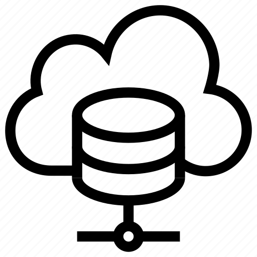 Database, host, hosting, server, settings, share icon, • cloud icon - Download on Iconfinder