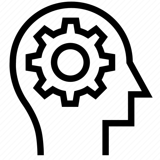Brain, mind, process, think icon icon - Download on Iconfinder