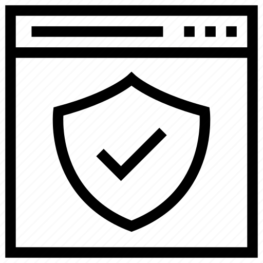 protection, protection shield, security shield, shield, web security icon icon