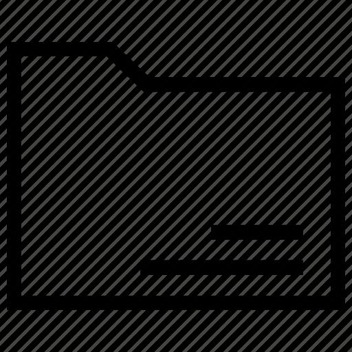 envelope, files, folder, interface, office icon icon