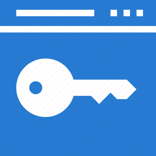 business, classic, key, keyword, page, site, web icon