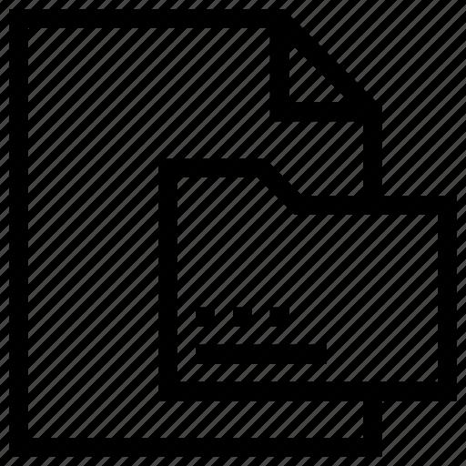Document, file, file folder, folder, sheet icon icon - Download on Iconfinder