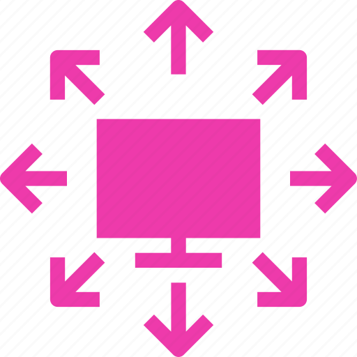 computer, local, network, pc icon