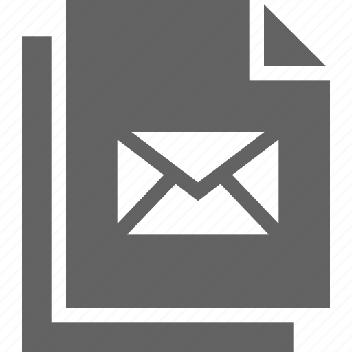 document, documents, e, editor, file, files, mail icon