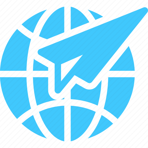 email, global, letter, mail, message, paperplane, plane icon