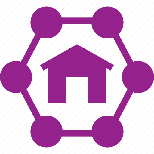 home, internet, network, networking icon