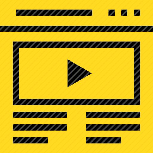 list, movies, videos, youtube icon