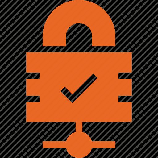 ico, lock, service, share, web icon