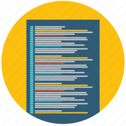code, css, development, program, web, web design icon