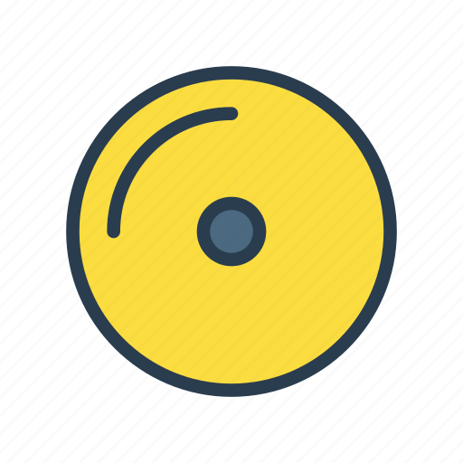Cd, disc, dvd, media, music icon - Download on Iconfinder